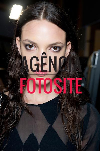 Londres sep/2013 - Backstage de Jonathan Saunders na Semana de moda de Londres - Verao 2014. <br /> Foto: FOTOSITE