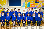 The new Junior Infants who started school last Friday, September 1st at Kilfynn NS.