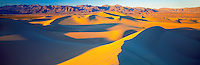 Mesquite Flat Dunes panorama, Death Valley National Park, California