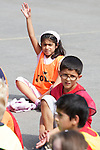 Pix: Shaun Flannery/shaunflanneryphotography.com...COPYRIGHT PICTURE>>SHAUN FLANNERY>01302-570814>>07778315553>>..27th August 2010............Active Regen, working with St Leger Homes holds a week long holiday programme for it's young residents at Hallcross School. The programme was funded by Wates Living Space, the contractor working with St Leger Homes in the town.