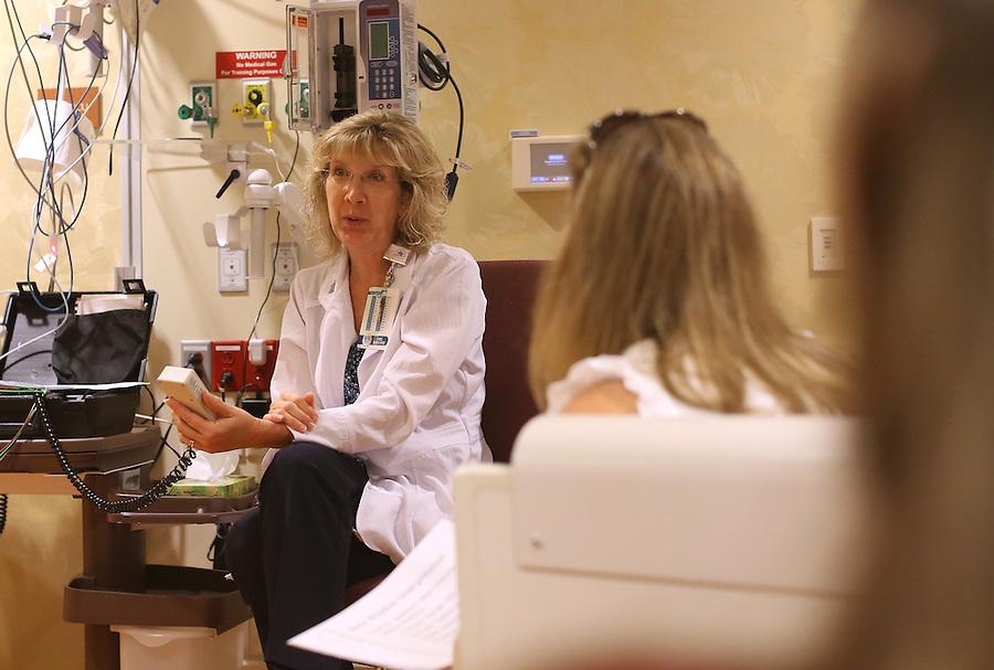 A teaching class for the nursing program at Martha Jefferson Hospital. Photo/Andrew Shurtleff