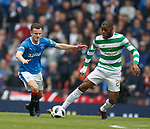 15.04.2018 Celtic v Rangers scottish cup SF:<br /> Andy Halliday and Oliver Ntcham
