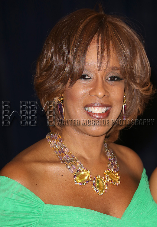 Gayle King  attending the  2013 White House Correspondents' Association Dinner at the Washington Hilton Hotel in Washington, DC on 4/27/2013