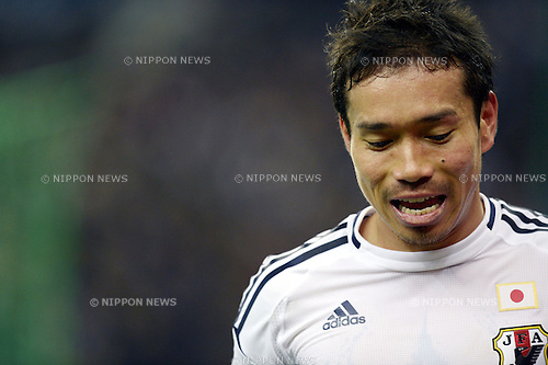 Yuto Nagatomo (JPN),.OCTOBER 12, 2012 - Football /Soccer :.International friendly match between France 0-1 Japan at Stade de France in Saint-Denis, France. (Photo by FAR EAST PRESS/AFLO)