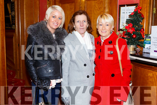 Enjoying the Presentation Secondary Castleisland School's 90th celebrations at River Island Hotel on Friday were Staff  Mary O'Brien, Joan Hickey and Kay O'Brien