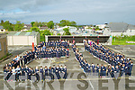 EU: Marking E.U Day were the pupils and teachers of Ardfert NS on Friday morning.by holding hands