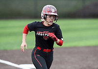 NWA Democrat-Gazette/CHARLIE KAIJO Northside High School Mairady Dempsey (22) scores during the 6A State Softball Tournament, Thursday, May 9, 2019 at Tiger Athletic Complex at Bentonville High School in Bentonville. Rogers Heritage High School lost to Northside High School 8-6