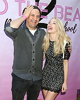 """LOS ANGELES - MAR 8:  Jacob D Smith and Liz Fenning at the """"To the Beat! Back 2 School"""" World Premiere Arrivals at the Laemmle NoHo 7 on March 8, 2020 in North Hollywood, CA"""