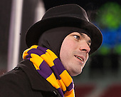 James LaCour (Williams - Assistant Coach) - The Williams College Ephs defeated the Trinity College Bantams 4-2 (EN) on Tuesday, January 7, 2014, at Fenway Park in Boston, Massachusetts.
