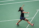 Ratchanok Intanon of Indonesia competes during the Semi Final of the Yonex Open Chinese Taipei 2015 at the Taipei Arena on 18 July 2015 in Taipei, Taiwan. Photo by Aitor Alcalde / Power Sport Images
