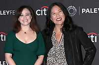 """LOS ANGELES - SEP 7:  Noga Landau, Melinda Hsu Taylor at the PaleyFest Fall TV Preview - """"Nancy Drew"""" at the Paley Center for Media on September 7, 2019 in Beverly Hills, CA"""