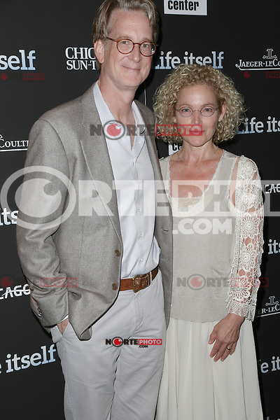 New York, NY - June 23 : Amy Irving and Kenneth Bowser attend the New York Premiere of Life Itself<br /> held at the Film Society of Lincoln Center Walter Reade Theater<br /> on June 23, 2014 in New York City. Photo by Brent N. Clarke / Starlitepics