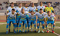 Downey, CA - Wednesday May 23, 2018: FC Golden State Force (PDL) vs Las Vegas Lights FC (USL) during a 2018 Lamar Hunt U.S. Open Cup third round match at Allen Layne Stadium.