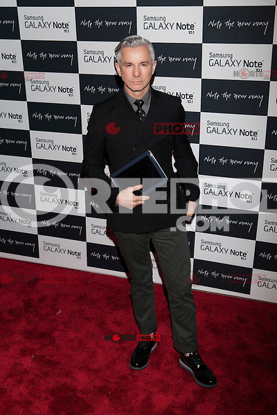 Baz Luhrmann attends the Samsung Galaxy Note 10.1 Launch Event in New York City, August 15, 2012. © Diego Corredor/MediaPunch Inc. /NortePhoto.com<br />
