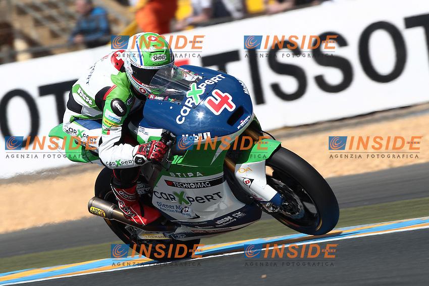 .17-05-2013 Le Mans (FRA).Motogp world championship.in the picture: Randy Krummenacher - Technomag CarXpert team .Foto Semedia/Insidefoto.ITALY ONLY