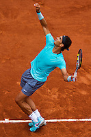 France, Paris, 26.05.2014. Tennis, Roland Garros, Rafael Nadal (ESP) in his match against Robby Ginepri (USA)<br /> Photo:Tennisimages/Henk Koster