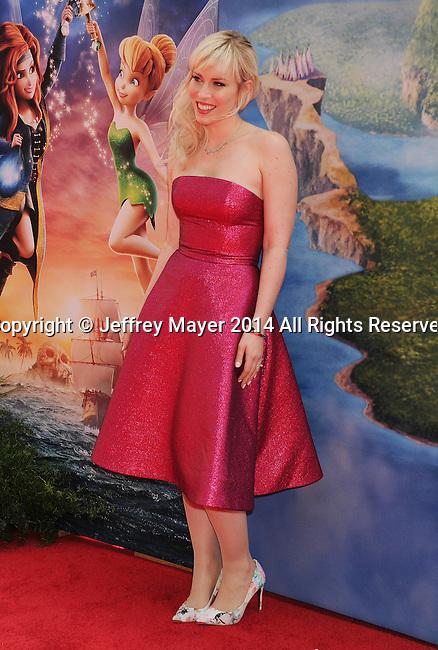 BURBANK, CA- MARCH 22: Recording artist Natasha Bedingfield attends the premiere of DisneyToon Studios' 'The Pirate Fairy' at Walt Disney Studios on March 22, 2014 in Burbank, California.