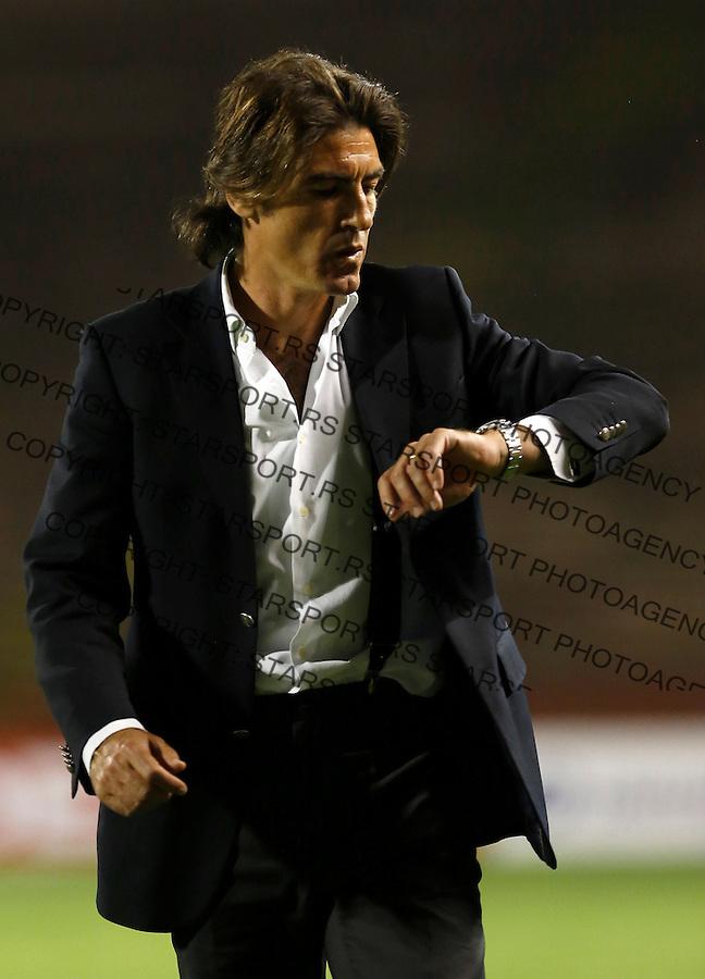 Fudbal Super liga season 2012-2013.Crvena Zvezda v Donji Srem.Head coach Ricardo Sa Pinto.Beograd, 04.27.2013..foto: Srdjan Stevanovic/Starsportphoto ©