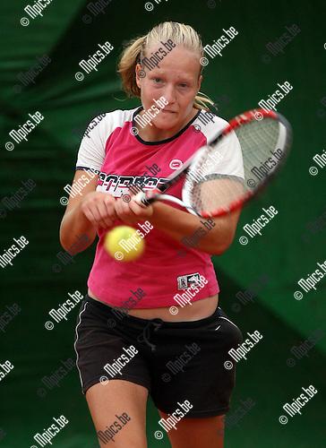 2008-07-17 / Tennis / Ine Nowe..Foto: Maarten Straetemans (SMB)