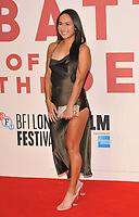Heather Watson at the 61st BFI LFF &quot;Battle of the Sexes&quot; American Express gala, Odeon Leicester Square, Leicester Square, London, England, UK, on Saturday 07 October 2017.<br /> CAP/CAN<br /> &copy;CAN/Capital Pictures
