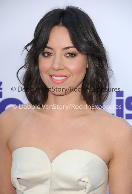 Aubrey Plaza   at The CBS Films L.A. Premiere of The To Do List held at The Regency Bruin Theatre in Westwood, California on July 23,2013                                                                   Copyright 2013 Hollywood Press Agency