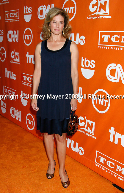 Actress Nancy Travis arrives at the Turner Broadcasting TCA Party at The Oasis Courtyard at The Beverly Hilton Hotel on July 11, 2008 in Beverly Hills, California.
