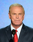 Former Governor Ted Strickland (Democrat of Ohio) makes remarks at the 2012 Democratic National Convention in Charlotte, North Carolina on Tuesday, September 4, 2012.  .Credit: Ron Sachs / CNP.(RESTRICTION: NO New York or New Jersey Newspapers or newspapers within a 75 mile radius of New York City)