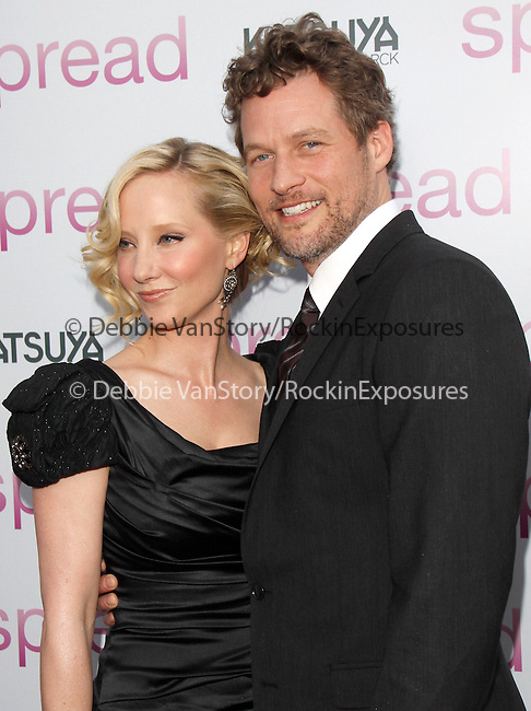 Anne Heche & James Tupper at The Anchor Bay Films feature of.SPREAD held at The Arclight Theatre in Hollywood, California on August 03,2009                                                                   Copyright 2009 Debbie VanStory / RockinExposures