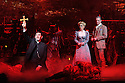 London, UK. 12.02.2016. Jeff Wayne's Musical Version of the War of the Worlds opens at the Dominion Theatre. Picture shows: Jimmy Nail (Parson Nathaniel), Heidi Range (Beth), Michael Praed (George Herbert). Photograph © Jane Hobson.