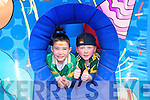 Rory Clifford and Eoin Walsh enjoying the John Mitchel's GAA Club Fun Day on Saturday