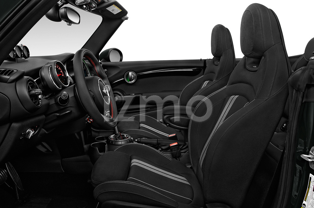 Front seat view of 2017 Mini Cooper John Cooper Works 2 Door Convertible front seat car photos