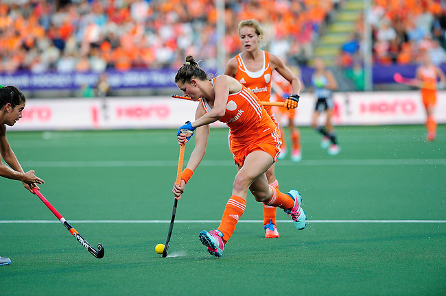 1The Hague, Netherlands, June 12: xxx during the field hockey semi-final match (Women) between The Netherlands and Argentina on June 12, 2014 during the World Cup 2014 at Kyocera Stadium in The Hague, Netherlands. Final score 4-0 (3-0)  (Photo by Dirk Markgraf / www.265-images.com) *** Local caption ***
