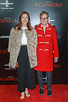 """Artist Will Cotton (right) and guest arrive on the red-carpet for the Tyler Perry""""s ACRIMONY movie premiere at the School of Visual Arts Theatre in New York City, on March 27, 2018."""
