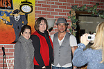 Fan poses with General Hospital - Kelly Monaco & Tyler Christopher appear at Uncle Vinnie's Comedy Club on February 19, 2011 in Point Pleasant Beach, New Jersey for fun, questions, stories, autographs and photos. (Photo by Sue Coflin/Max Photos)