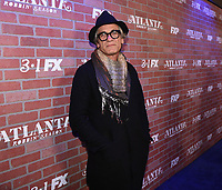 """LOS ANGELES - FEBRUARY 19: Alon Abutbul arrives at the red carpet event for FX's """"Atlanta Robbin' Season"""" at the Ace Theatre on February 19, 2018 in Los Angeles, California.(Photo by Frank Micelotta/FX/PictureGroup)"""