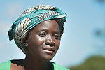 A woman in Kayeleka Banda, Malawi. The village's health program gets support from the Maternal, Newborn and Child Health program of the Livingstonia Synod of the Church of Central Africa Presbyterian.