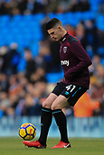 3rd December 2017, Etihad Stadium, Manchester, England; EPL Premier League football, Manchester City versus West Ham United; Declan Rice of West Ham warming up