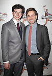 Jack Scott & Michael Fatica.attending the 'NEWSIES' Opening Night after Party at the Nederlander Theatre in New York on 3/29/2012