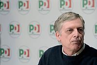 Roma, 17 Marzo 2018<br /> Gianni Cuperlo.<br /> Iniziativa pubblica &quot;Adesso ricostruire. Il PD e la Sinistra&quot;