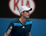 Andy Murray (GBR) defeats Feliciano Lopez (ESP) 7-6, 6-4, 6-2 at the Australian Open in Melbourne, Australia on January 18, 2014