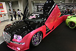 May 28, 2010 - Tokyo, Japan - Concept and tuning cars are on display during the 'Tokyo Special Import-Car Show' held at the Tokyo Big Sight Exhibition Center, in Tokyo, Japan on May 28, 2010. The show that began in 2004 runs from May 28-30, and gives to nearly 200 exhibitors to showcase aftermarket parts, service, technology for imported cars, and customized/tuned imported cars.