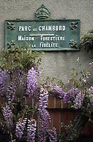 Europe/France/Centre/41/Loir-et-Cher/Chambord: Domaine National de Chambord - Maison foretière de la fidélité