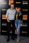 Tristan Ulloa and Ursula Corbero attends to 'Snatch' second season presentation  at Sony offices in Madrid, Spain. September 19, 2018. (ALTERPHOTOS/A. Perez Meca)