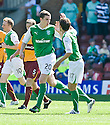 15/08/2010   Copyright  Pic : James Stewart.sct_jsp010_partick_th_v_dundee  .::  PAUL HANLON IS CONGRATULATED BY KEVIN MCBRIDE AFTER HE SCORES THE SECOND  ::.James Stewart Photography 19 Carronlea Drive, Falkirk. FK2 8DN      Vat Reg No. 607 6932 25.Telephone      : +44 (0)1324 570291 .Mobile              : +44 (0)7721 416997.E-mail  :  jim@jspa.co.uk.If you require further information then contact Jim Stewart on any of the numbers above.........