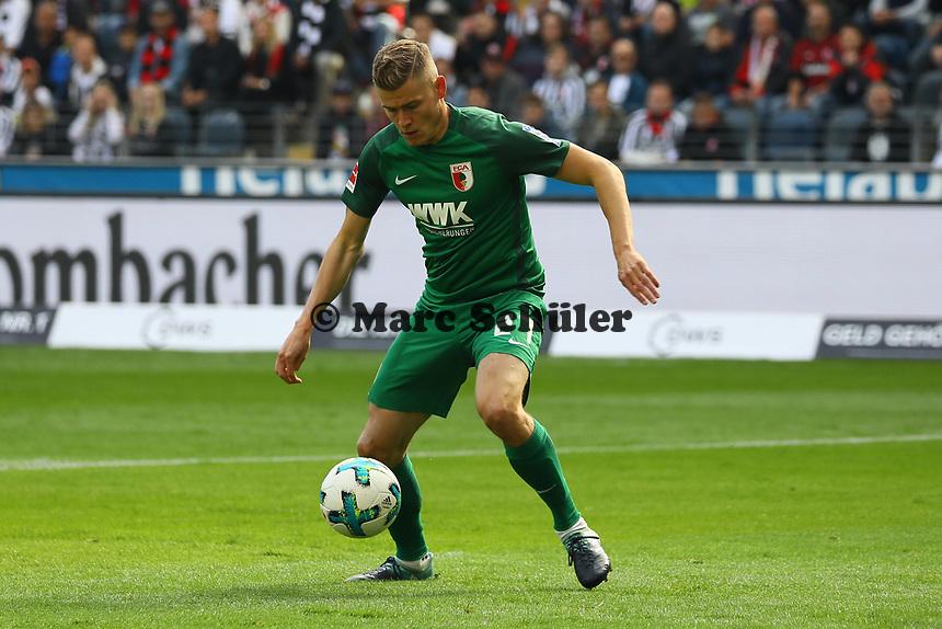 Alfred Finnbogason (FC Augsburg) - 16.09.2017: Eintracht Frankfurt vs. FC Augsburg, Commerzbank Arena