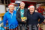 David Heaton, Dave O'Connor and John L O'Sullivan from Dingle shopping in Garveys Supervalu in Dingle on Thursday.