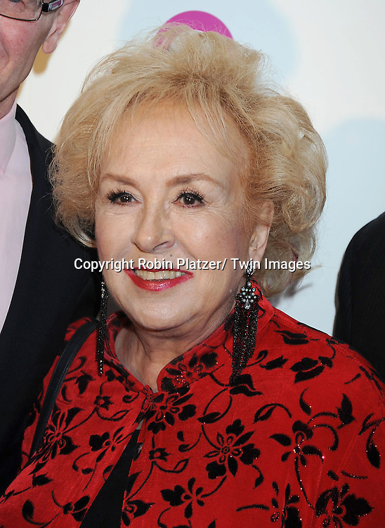 """Doris Roberts attending The QVC Presents """"FFANY Shoes on Sale"""" at Frederick P Rose Hall, Home of Jazz at Lincoln Center on October 13, 2010 in New York City."""