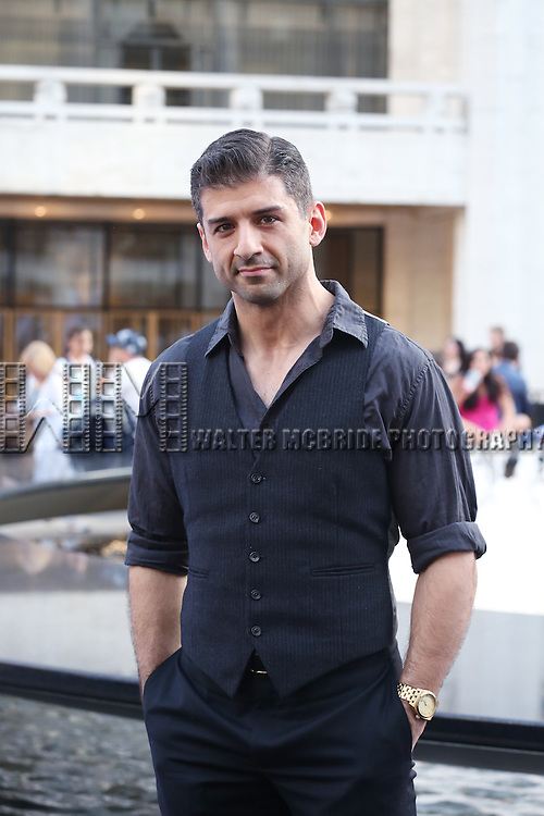 Tony Yazbeck attends the 'Danny Elfman's Music From The Films Of Tim Burton' - 2015 Lincoln Center Festival Opening Night at Josie Robertson Plaza at Lincoln Center on July 6, 2015 in New York City.