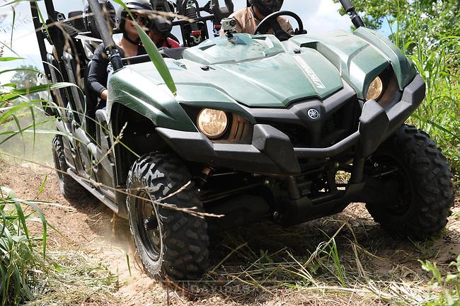 YAMAHA Viking VI side by side UTV<br /> preproduction prototype model<br /> Test ride. Lose Pines Texas