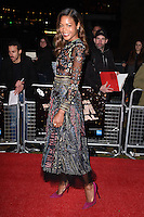 "Naomie Harris<br /> at the London Film Festival premiere for ""Moonlight"" at the Embankment Gardens Cinema, London.<br /> <br /> <br /> ©Ash Knotek  D3163  06/10/2016"